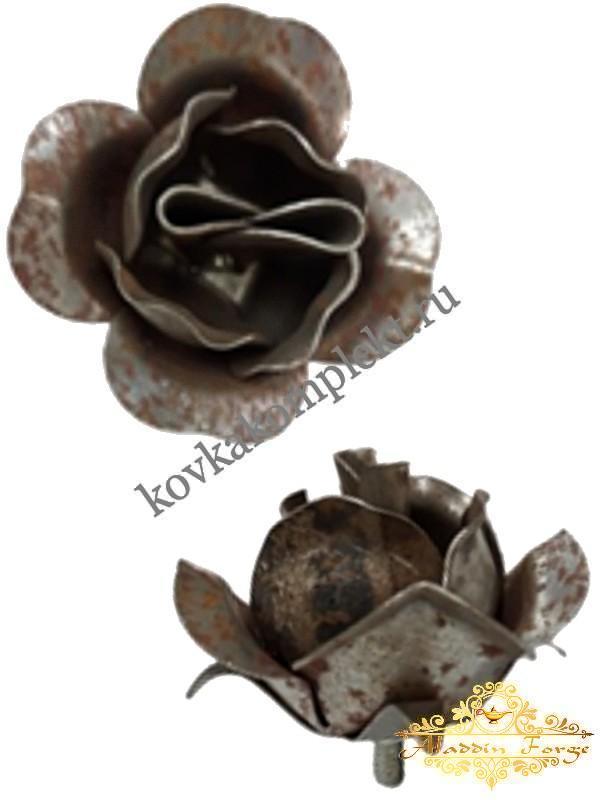 Декоративный элемент «Роза» 7 х 4,5 см (арт. 7961)