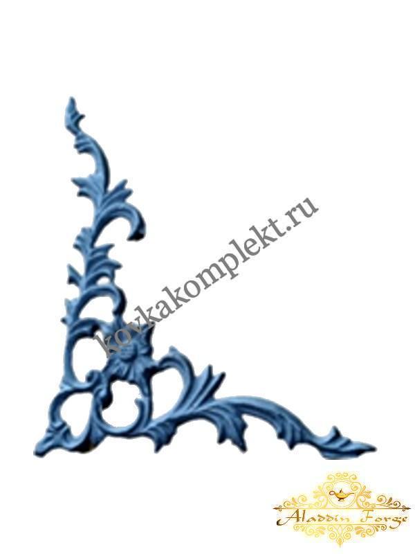 Декоративный узор 31 х 25 см (арт. 3209)