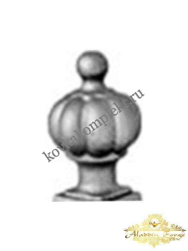 Декоративный узор 5 х 8 см (арт. 4204)
