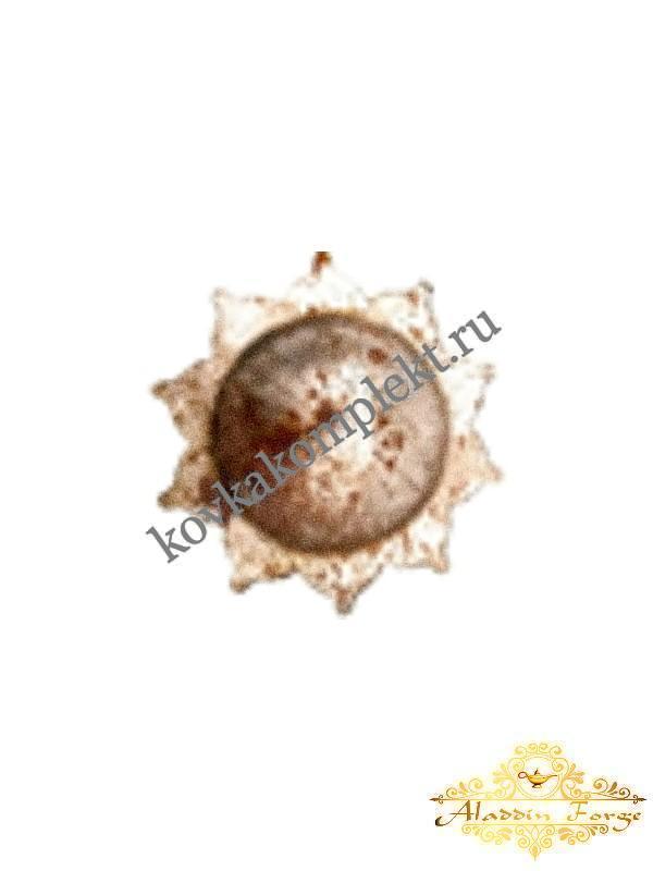 Штампованный элемент 2 х 7 см (арт. 7922)