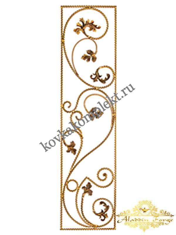 Панель декоративная 40 х 160 см (арт. 6132)