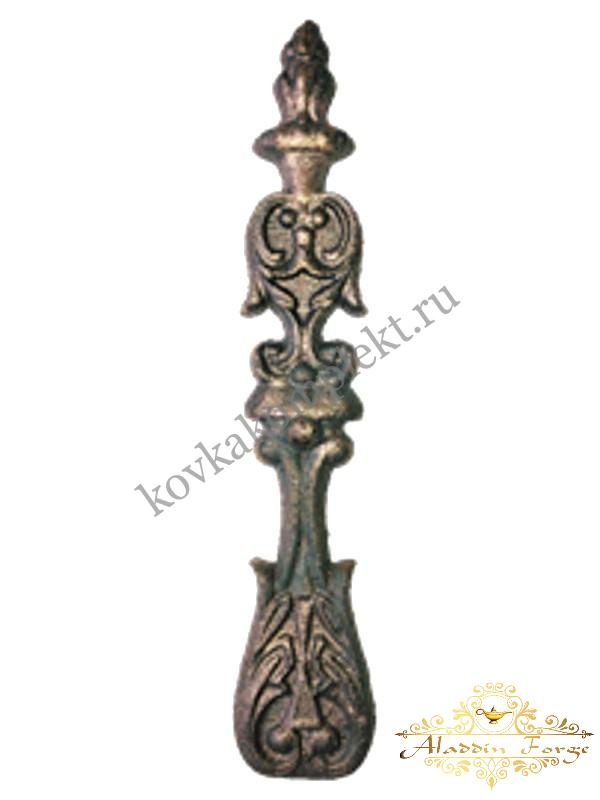 Декоративная накладка 5,5 х 29 см (арт. 3563)