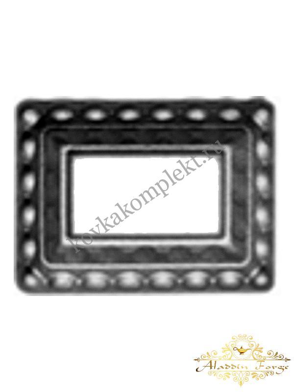Декоративное основание (подпятник) 7,5 х 10 см (арт. 4304)