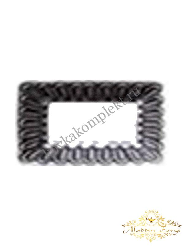 Декоративное основание (подпятник) 10,7 х 7,5 см (арт. 4306)