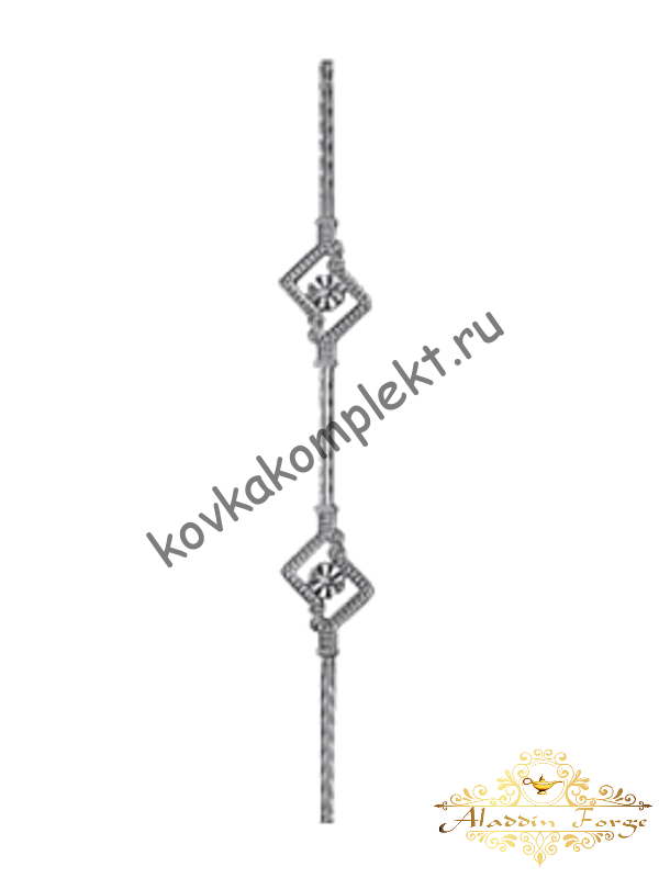 Балясина 9 х 75 см (арт. 1634)